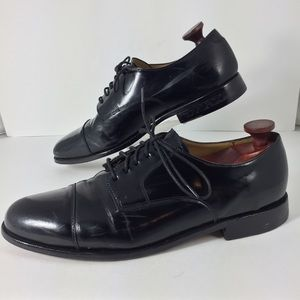 Cole Haan Caldwell Oxford Black Leather Shoes 11D